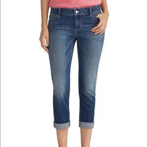 {WHBM} Essential Slim Crop Jeans